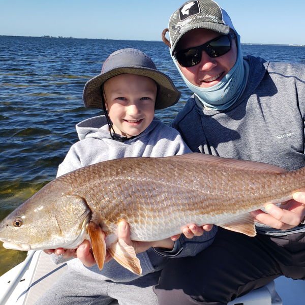 A picture of Tampa Redfish Fishing with Bag´Em Fishing Charters