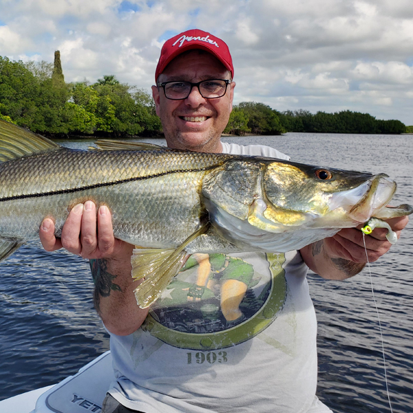 A picture of Tampa Snook Fishing with Bag´Em Fishing Charters