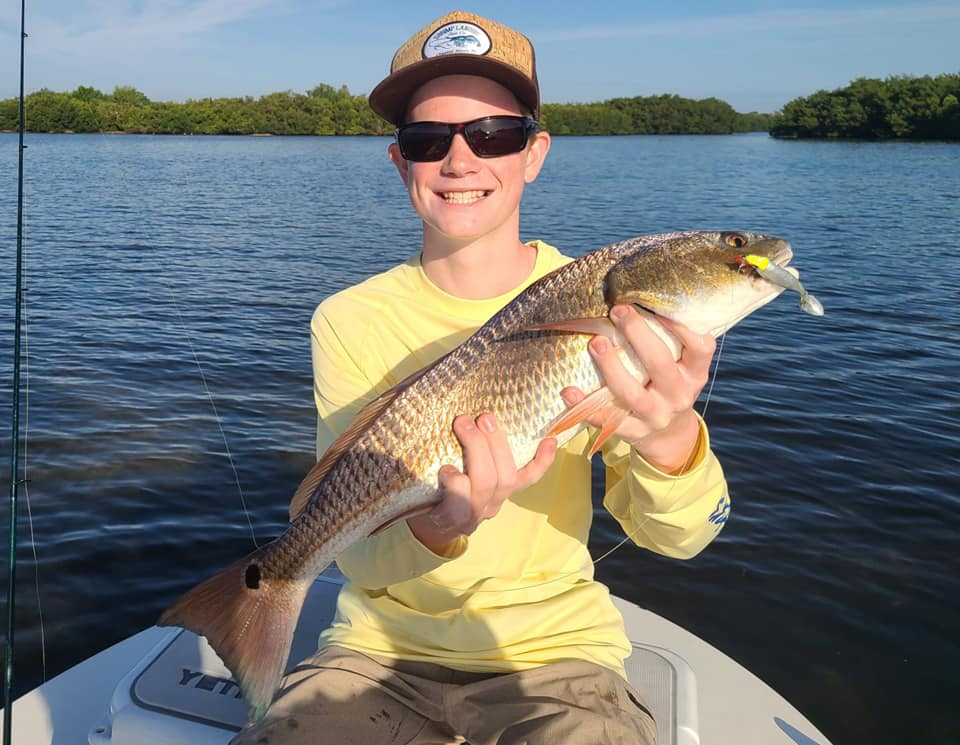 A picture of Tampa Fishing Outlook Fall 2021 with Bag´Em Fishing Charters